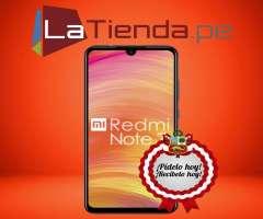 Xiaomi Redmi Note 7 - lector de huellas posterior
