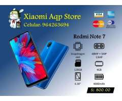 Redmi Note 7 32 64 128gb 3 Y 4gb Ram