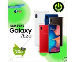 Samsung A20 Dual camara todo pantalla / Tienda física Centro de Trujillo / Cel...
