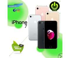 7 Apple Iphone 7 4.7 Celulares sellados  / Tienda Fisica Centro Trujillo /