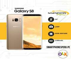 Samsung Galaxy S8 64GB / Disponibilidad inmediata / Smartphonesperu