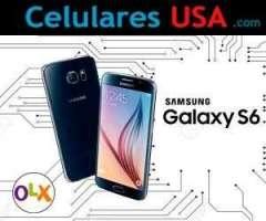 Samsung S6 Azul / Blanco 32gb Tienda San Borja. Garantía.