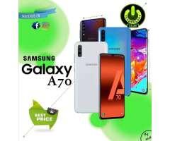Cyber WOW Smartphone Galaxy modelos  A70 Samsung A70 super precio Celulares sellados Garantia 1...