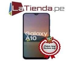 Samsung Galaxy A10 con desbloqueo facial