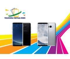 Samsung GALAXY S8 64GB/4RAM NUEVO SELLADO Y ORIGINAL COLORES SOMOS TELEFONIA VIRTUAL PERU