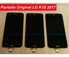 Pantalla y Tactil Completa Lg K10 2017 San Borja