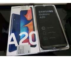 Celular Samsung Galaxy A20 Nuevo