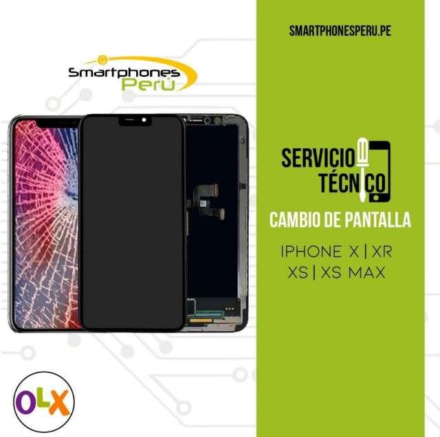 Cambio de Pantalla iPhone X iPhone XS iPhone XR iPhone XS max Servicio Tecnico Apple