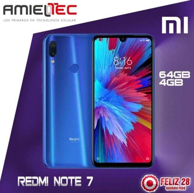Redmi Note 7 64gb Tienda Fisica Garantia