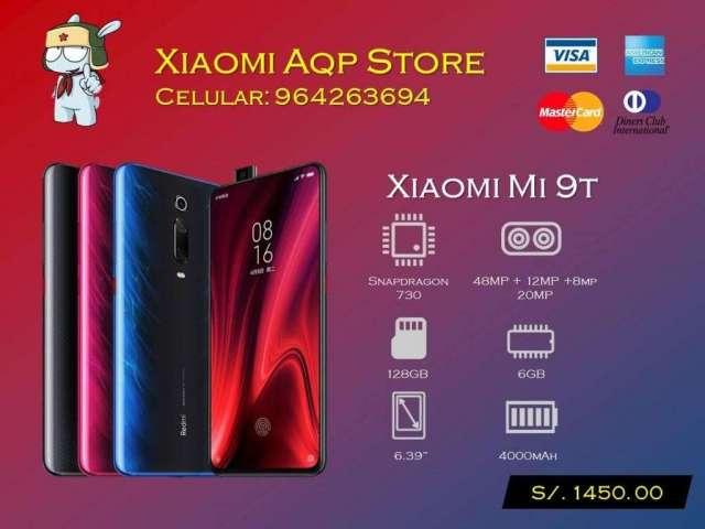 Xiaomi Mi9t 128gb Mi 9t Rojo Azul Oferta