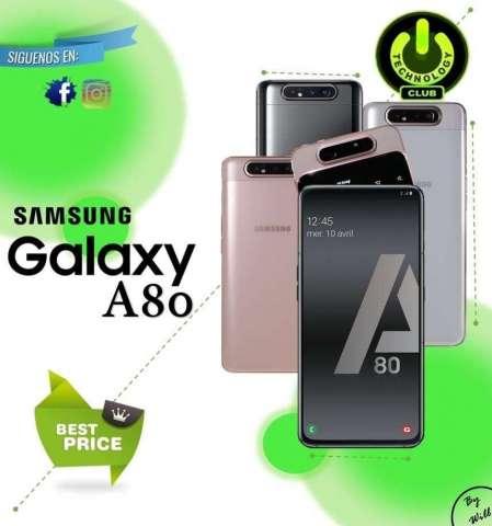 Tienda Fisica Trujillo / Samsung Galaxy A80 8 Gb Ram Modelo 2019 / Celulares Sellados...