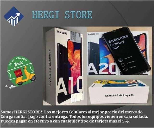 Oferta Samsung A10, A20 y A30 en Caja