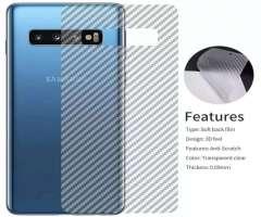 Fibra Transparente para Samsung S10 Plus
