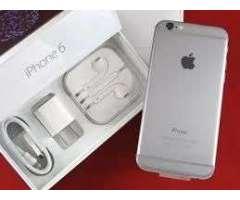 iphone 6 de 64gb.! color platiado! en venta y en promocion!!