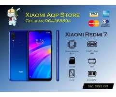 Xiaomi Redmi 7 3gb Y 32gb Azul Sellado