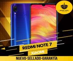 Xiaomi Redmi Note 7 (NUEVO-SELLADO-GARANTIA)