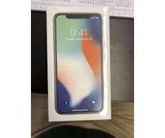Promocion.! IPhone X de 256gb.! en caja nuevo color silver.!