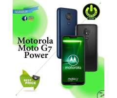 Motorola Moto G7 Power 64 Gb Memoria / 2 Tiendas Fisicas Trujillo Expomall y Centro histor...