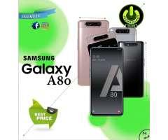 Tienda Fisica Trujillo / Samsung A80 8 Gb Ram Camara Retractil / Celulares Sellados 1...