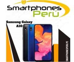 Samsung Galaxy A10 / Disponibilidad inmediata / Smartphoneperu