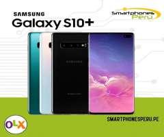 Samsung S10 Plus 128GB / Tiendas físicas /  somos Smartphonesperu.pe