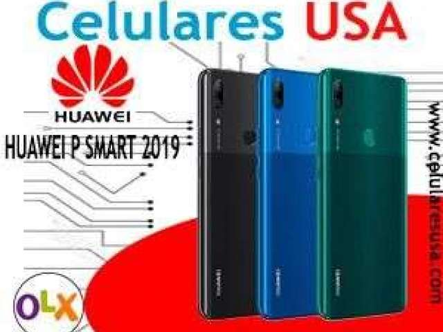 Huawei p smart 2019 Tienda San Borja. Garantía.