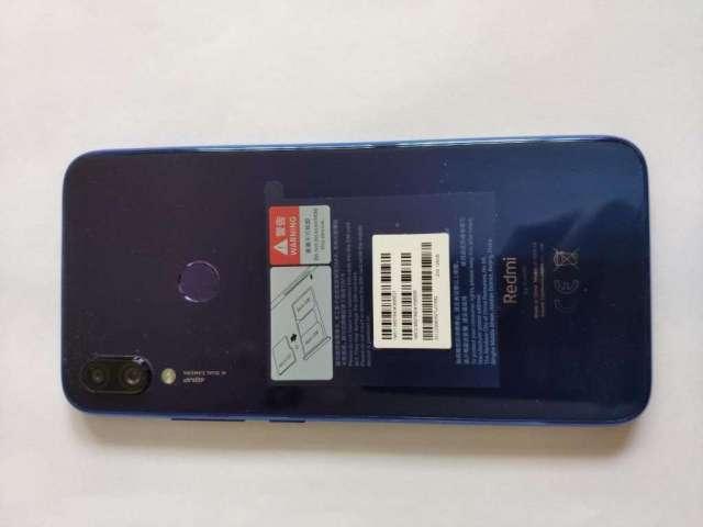 Redmi Note 7 128gb, Ram 4gb, Azul