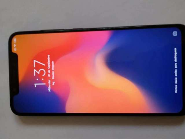 Xiaomi Mi8 128gb, Ram 6gb, Color Negro