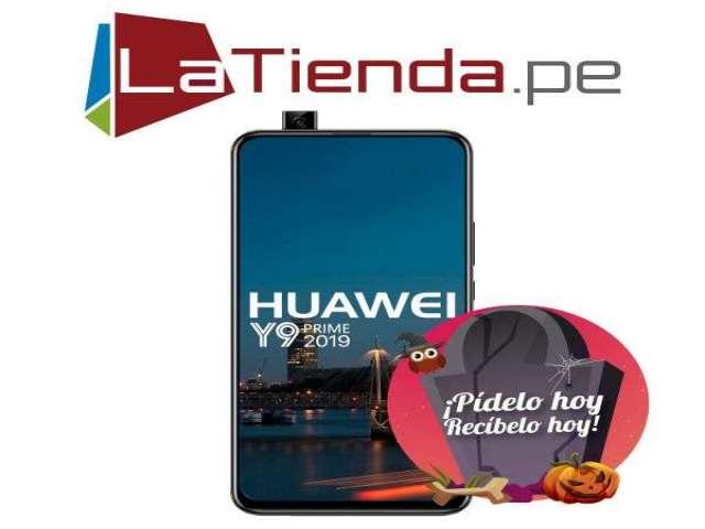 Huawei Y9 Prime 2019 - cámara frontal pop-up motorizada *