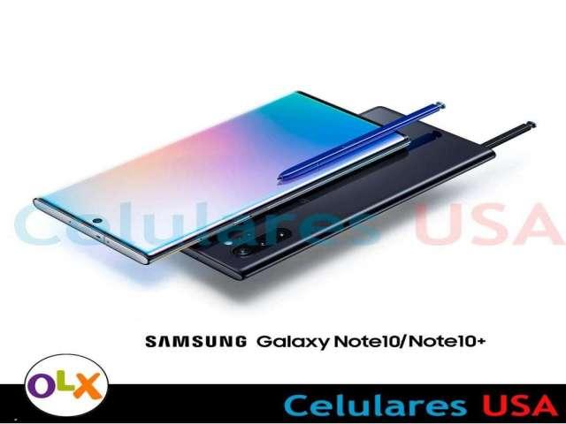 Samsung Galaxy Note 10 256gb libre de fábrica. Tienda San Borja