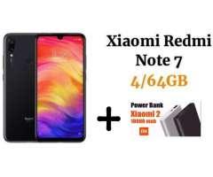 Xiaomi Redmi Note 7 64GB 4GB SELLADO MAS Portátil Xiaomi De 10,000maH ORIGINAL SELLADO OFERTA