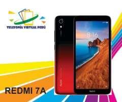 XIAOMI REDMI 7A 32GB/2RAM SOMOS TELEFONIA VIRTUAL PERU 964334420