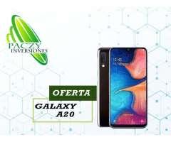 Samsung Galaxy A20 Tienda Garantía