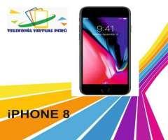 iPHONE 8 64GB SOMOS TELEFONIA VIRTUAL PERU