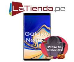 Samsung Galaxy Note 9 con Doble Cámara principal de 12 MP  12 MP