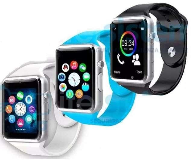 Smart Watch Iphone Reloj Celular Camara Bluetooh