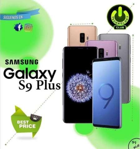 S9 Plus Samsung Galaxy S9 Plus todos los colores Celulares sellados Garantia 12 meses / Ti...