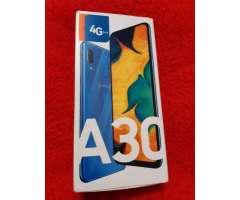 Samsung A30 nuevo en caja con accesorios IMEI original
