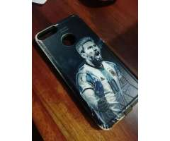 CASE PROTECTOR HUAWEI P SMART - MESSI ARGENTINA