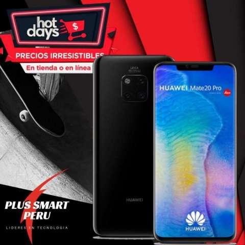 HUAWEI MATE 20 PRO / HOT DAYS en Plus Smart Peru tienda Arequipa