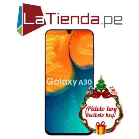 Samsung Galaxy A30 - Huella digital trasera