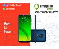 Moto G7 Power 64 gb Tienda Fisica