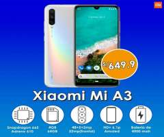 Xiaomi Mi A3 de 64gb en Stock