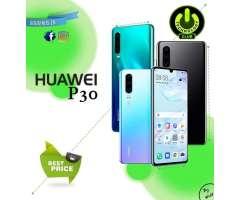 P30 Triple camara Huawei P30 Libres de Fabrica Equipos sellados Garantia 12 Meses Tienda Fisica...