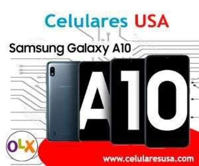Samsung galaxy A10 en caja sellada. Tienda en San Borja