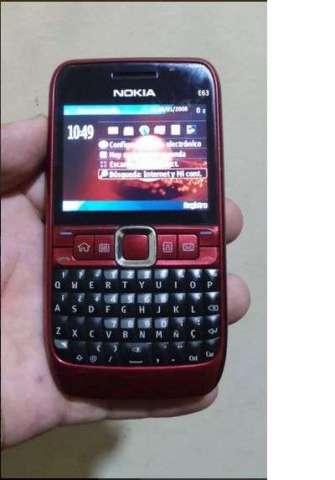 Celular Nokia E63 Operador libre