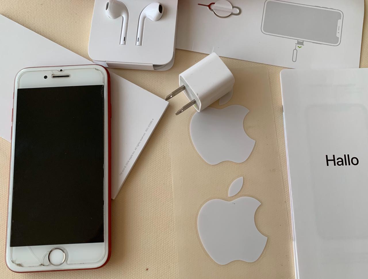 IPHONE7 EXCELENTE ESTADO, RED EDITION 128GB CON ACCESORIOS ORIGINALES
