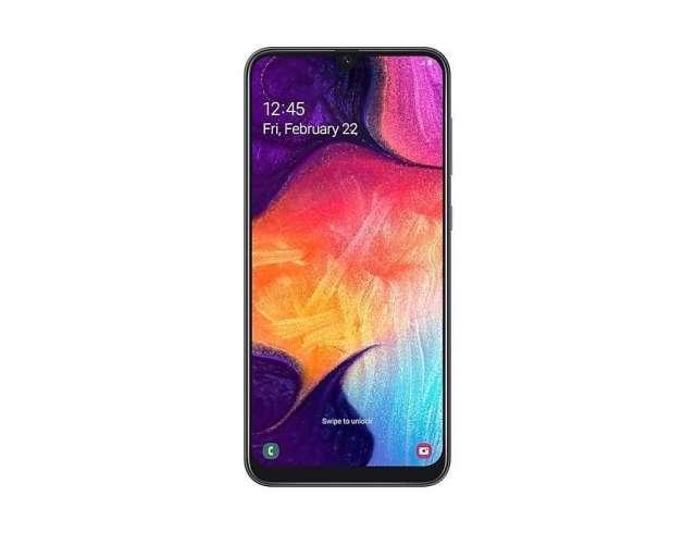 Samsung galaxy A50 Pantalla:6.4 pulgadas (SUPER AMOLED) Ram 8GB  -Almacenamiento:128 GB Camara ...
