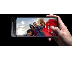 Samsung Galaxy A80 Memoria RAM:8GB  -Almacenamiento Interno :128 GB Resolución múltiple (cám...