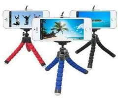Mini Trípode Flexible Para Celular Sansumg, iPhone +delivery